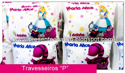 Lembranças tema Alice
