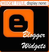 widgets thumb3 Menghilangkan atau Menyembunyikan Tampilan Judul Widget Blog
