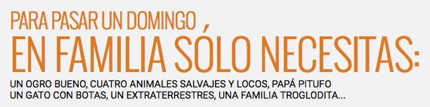Cine Familiar - Promociones El País