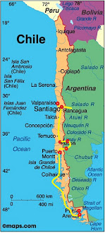 Chile Route Map