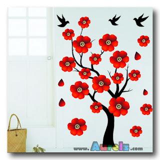 red rose tree 3d hl 2191