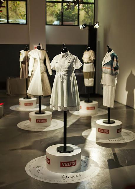 La luz se viste de moda Velux Esencia Trendy presentación event spanish desing deco