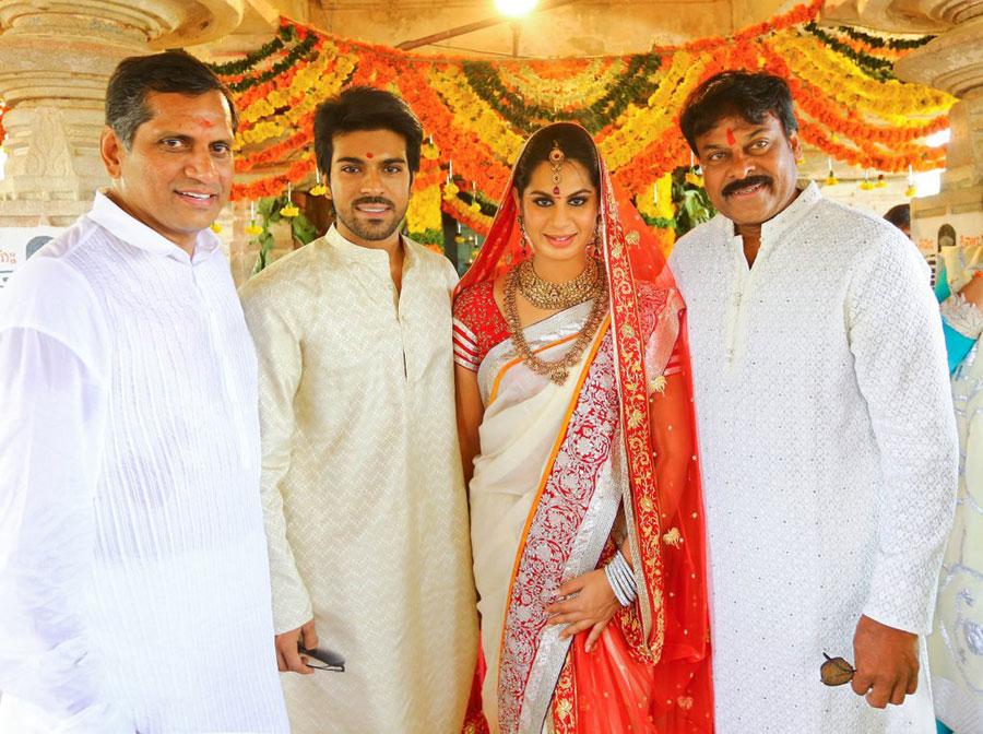Actor Ram Charan Marriage Photos Indian Cinema