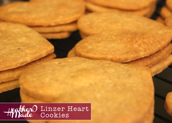 linzer heart cookies. heatheromade. homemade cookie recipe.