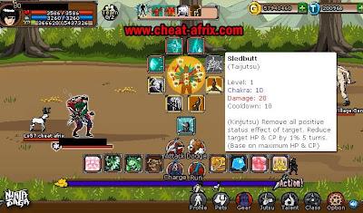 Taijutsu Sledbutt Ninja Saga New