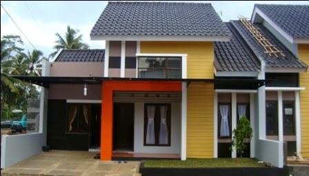 Desain Rumah Minimalis 2 Lantai, rumah type 60