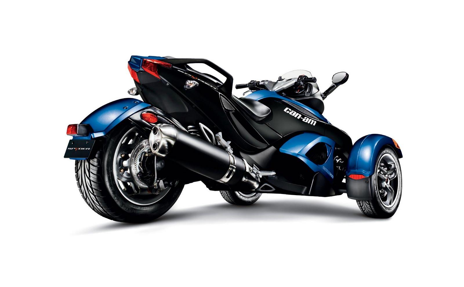 motorcycle pictures can am spyder rs roadster 2010. Black Bedroom Furniture Sets. Home Design Ideas
