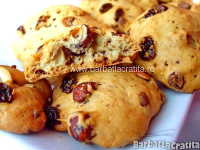 Fursecuri cu alune (cookies)