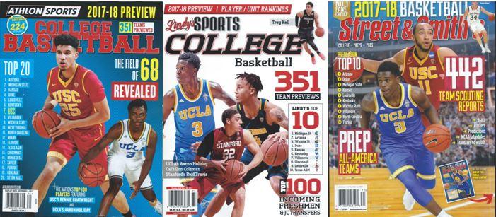 2017-18 Pre-Season mags