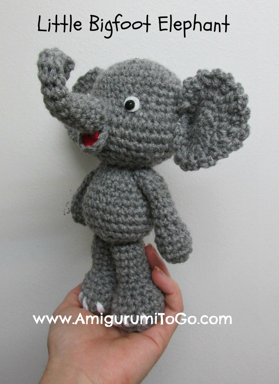 Free Crochet Amigurumi Puppy Pattern : Cute Elephant Video Tutorial In The Works ~ Amigurumi To Go