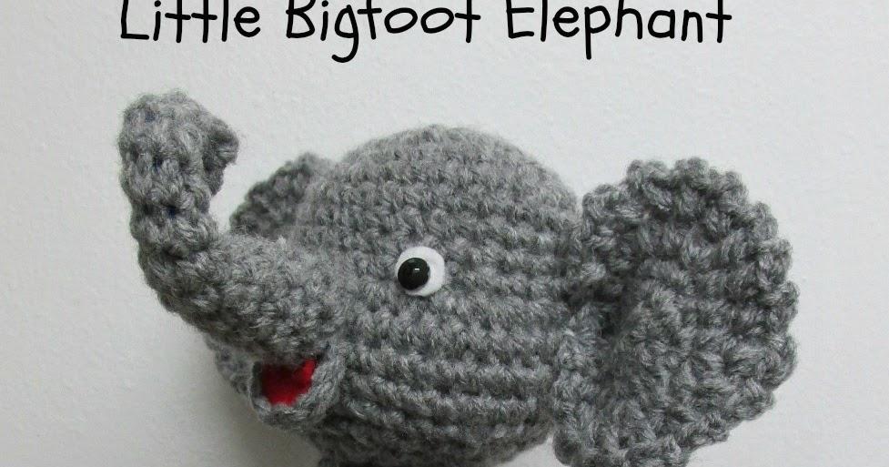 Amigurumi To Go Little Bigfoot Elephant : Cute Elephant Video Tutorial In The Works ~ Amigurumi To Go