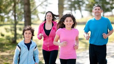 Los hijos y una vida sana