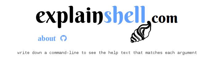 explainshell.com