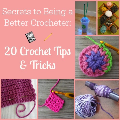 Crocheting Tips : 20 Best Crochet Tips and Tricks - DIY Craft Projects