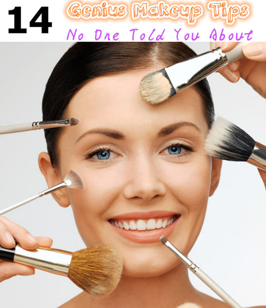 14 Genius Makeup Tips No One Told You About