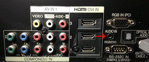 Hướng dẫn cách kết nối desktop hay laptop với Tivi 5
