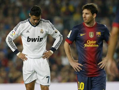 Lionel Messi Dan Cristiano Ronaldo Sama Hebat