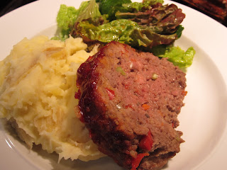 Meatloaf with Veggies