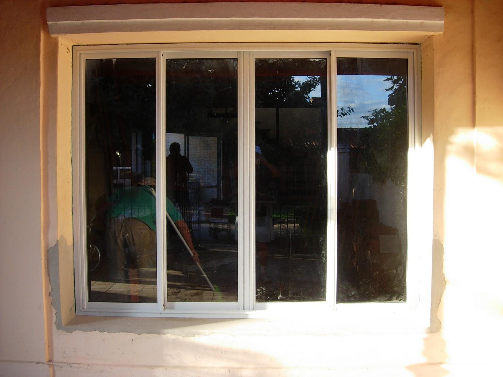 Via-Diseño (Carpintería de Aluminio): ventanal 4 hojas corredizas ...