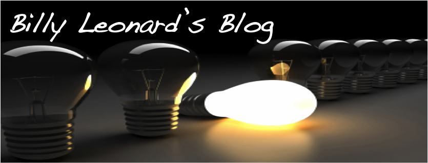 Billy Leonard's Blog