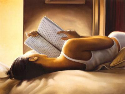 donna e libro
