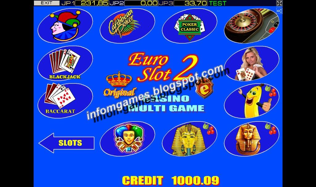 casino euro slot multi game