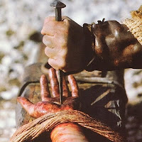 Nail in Jesus' Hand