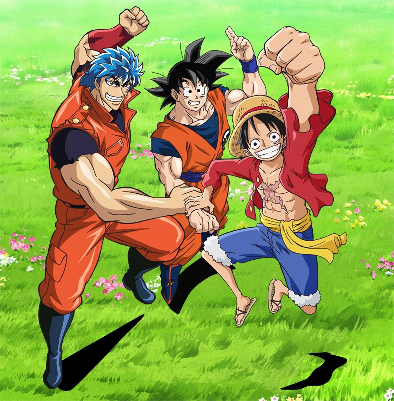 One Piece X Toriko & Dragon Ball Z Crossover Sub Español
