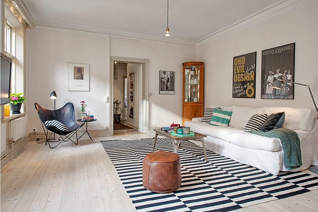 My Bohemic home: Inspirationsbilder på vardagsrum