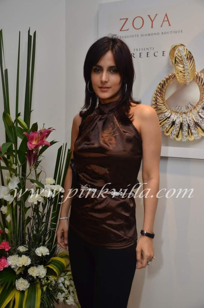 Tulip Joshi in all black  -  Tulip Joshi @ Zoya's Greece Launch