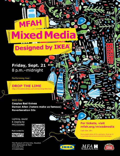 MFAH Mixed Media Party