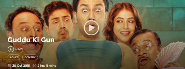 Guddu Ki Gun 2015 Full Hindi Movie Download 300Mb HD