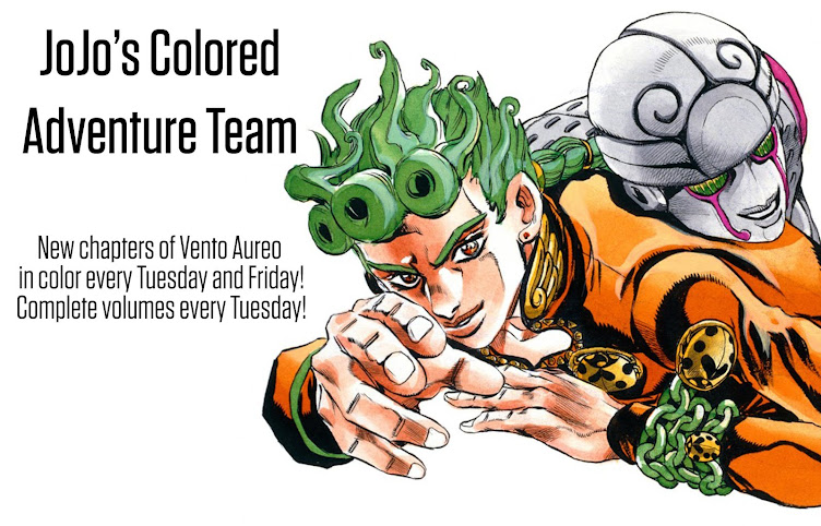 JoJo's Colored Adventure Team