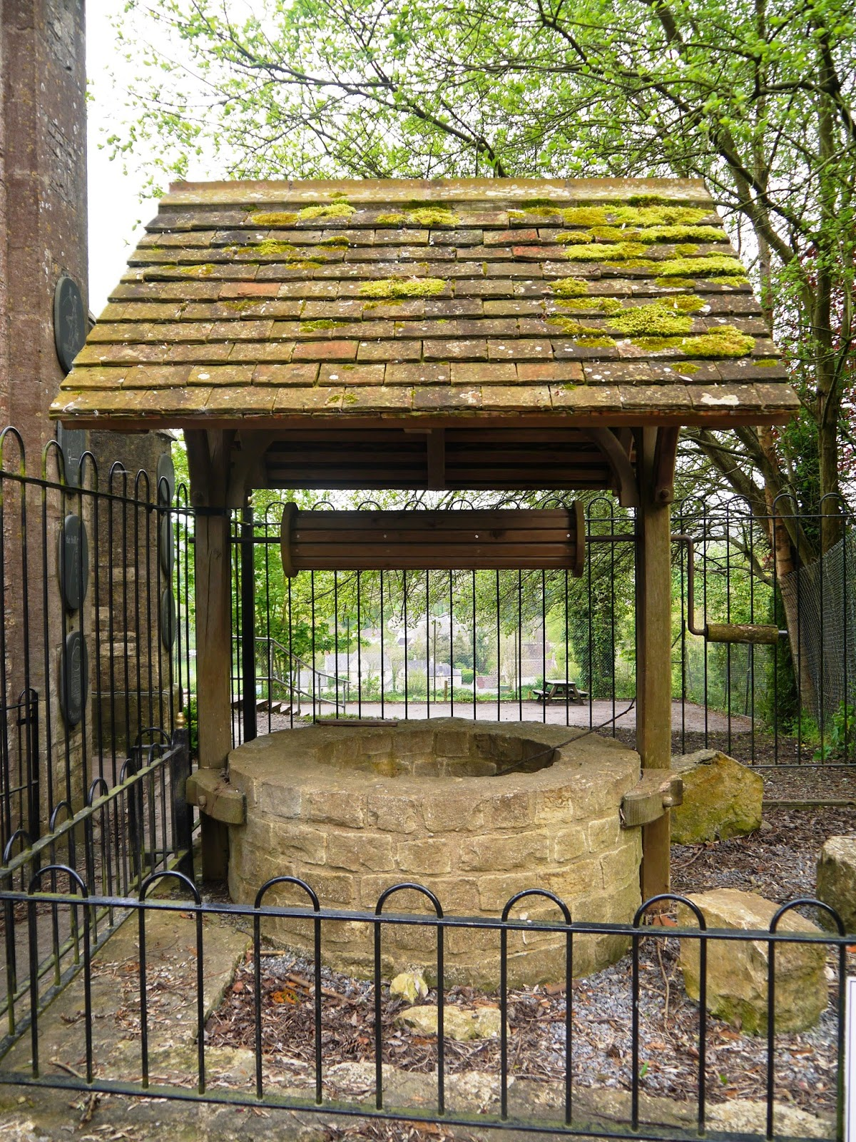 The well at the top of Jack and Jill Hill, Kilmersdon
