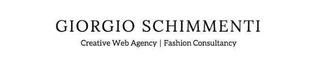 Giorgio Schimmenti - Creative Fashion Consultant