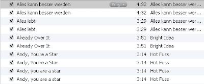 iTunes doppelte Titel löschen