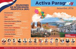 ACTIVA PARAGUAY: 3 al 6 de septiembre de 2016
