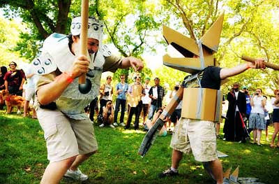Liga Pertandingan Pedang Kardus