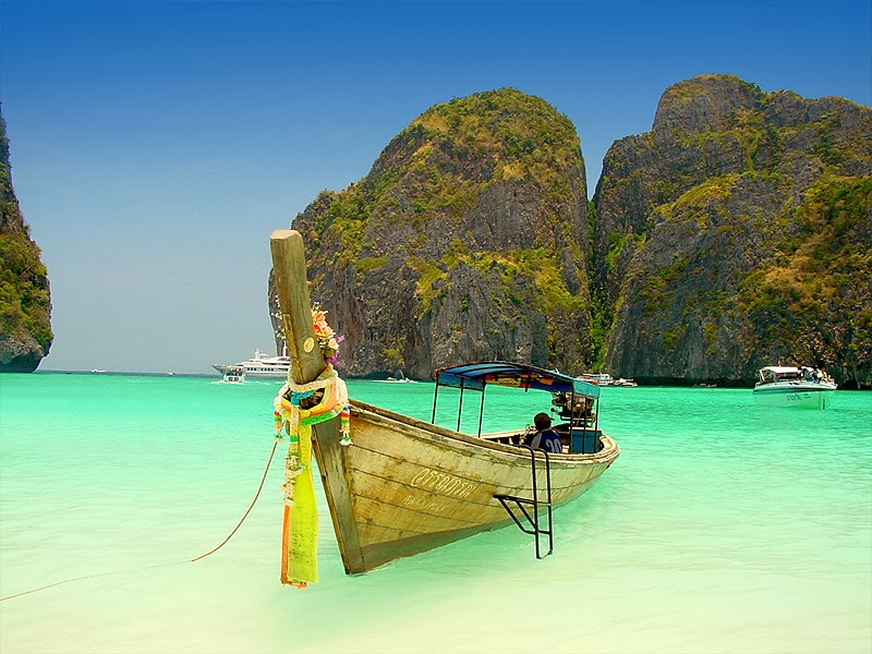 Attractions: Phi Phi Island, Thailand