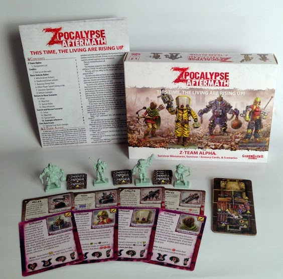 Deluxe Dice Set Zpocalypse Board Game