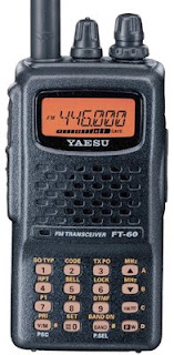 The Baofeng dual band handheld radio