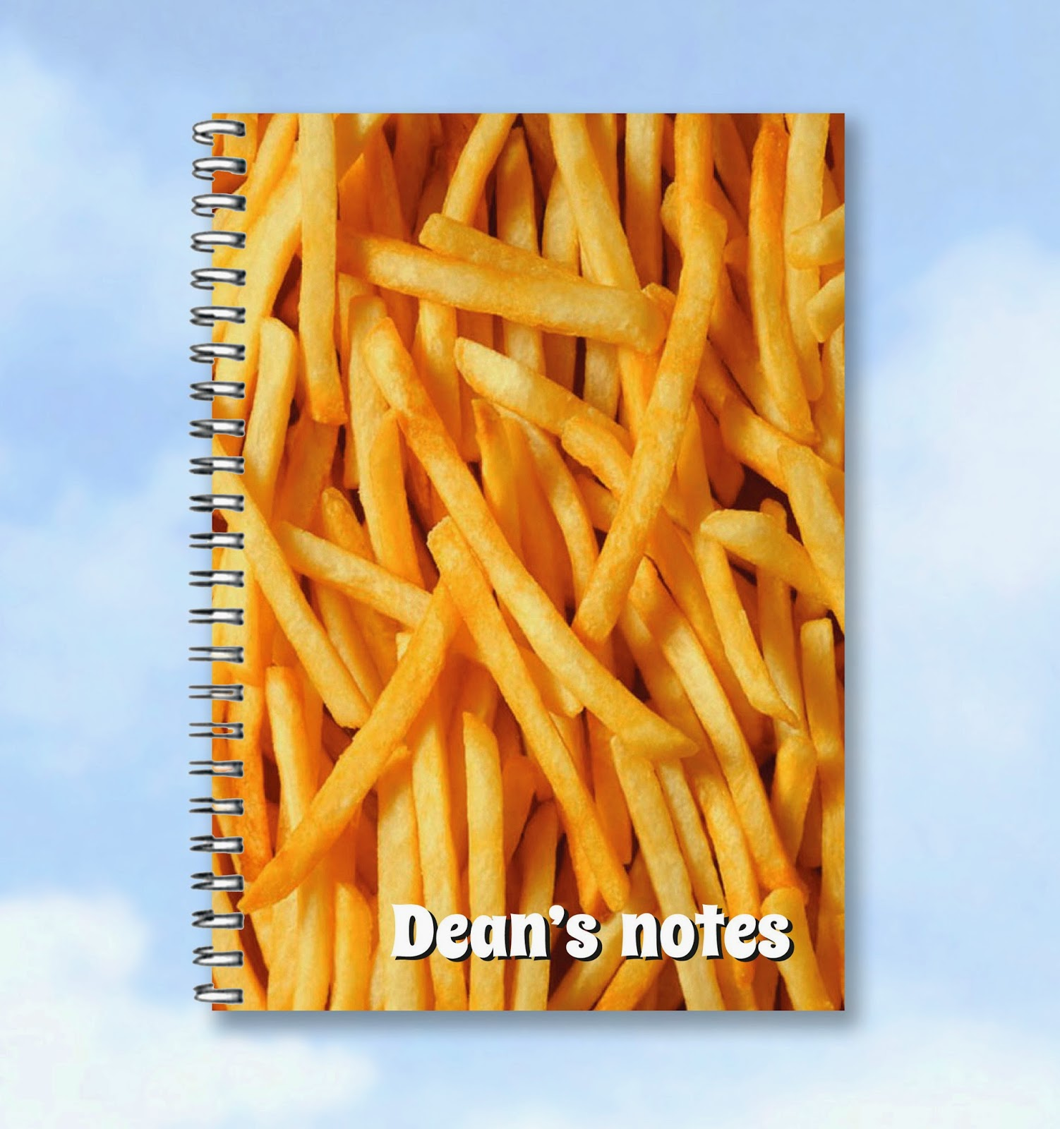 Yummy Chips notebook