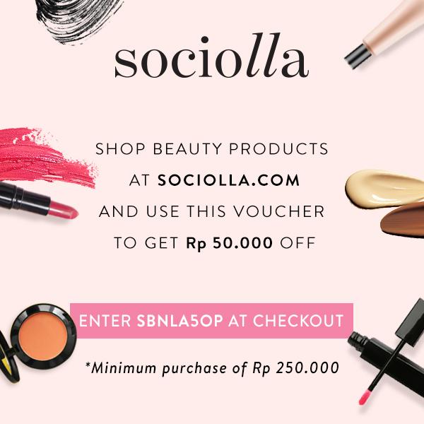 Discount Rp50.000 at Sociolla!