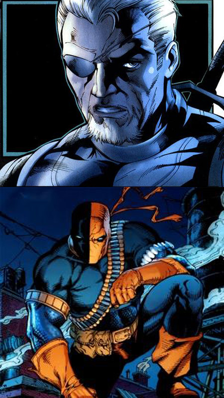 Deathstroke Without Mask The Fanboy SEO: First ...