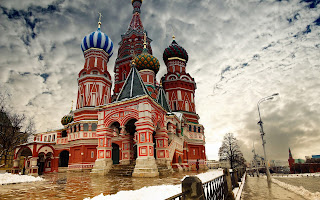 Saint Basil's Cathedral View