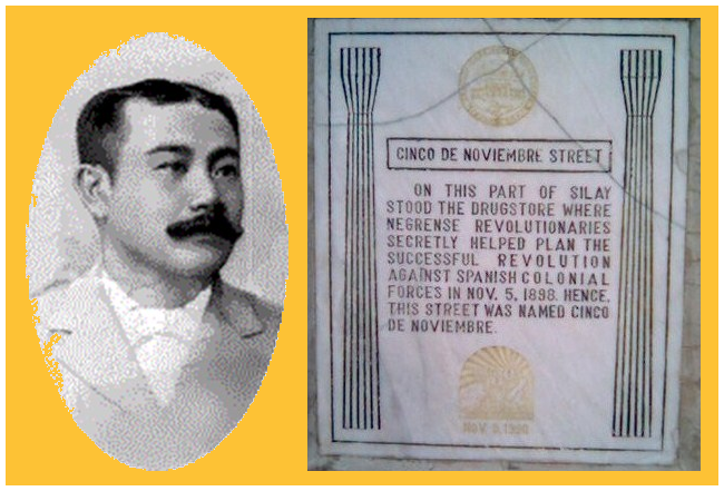Aniceto Lacson and Nov. 5 marker in Silay