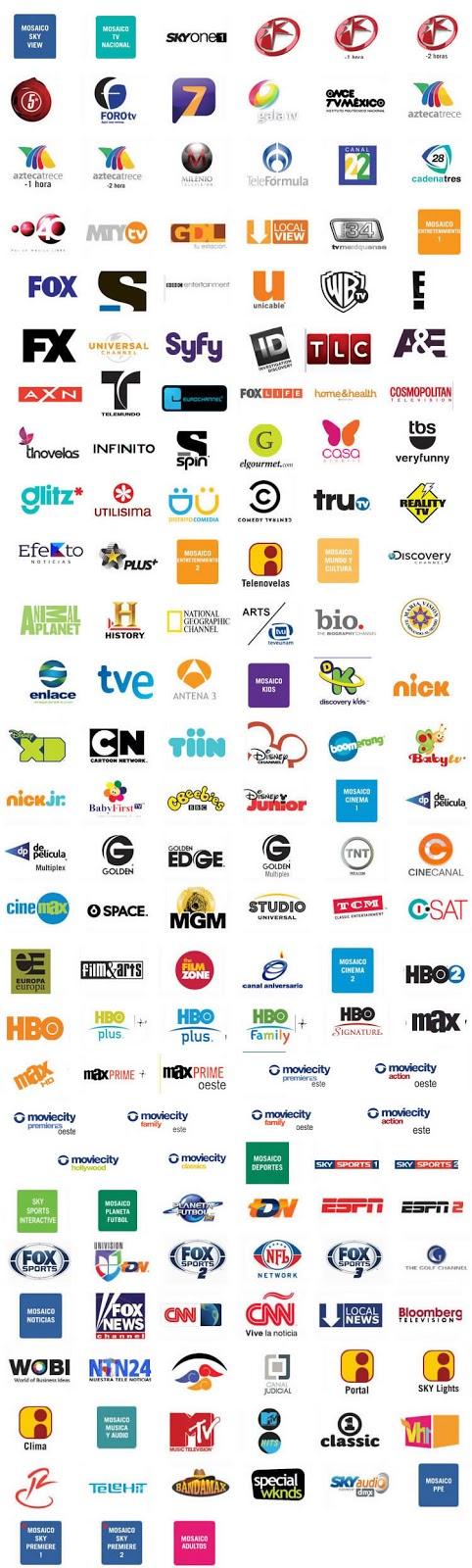 248 canales del paquete UNIVERSE  por solo $734 al mes