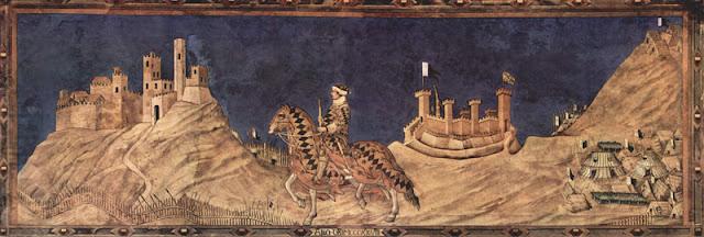 guidoriccio da fogliano affresco di Simone martinidi