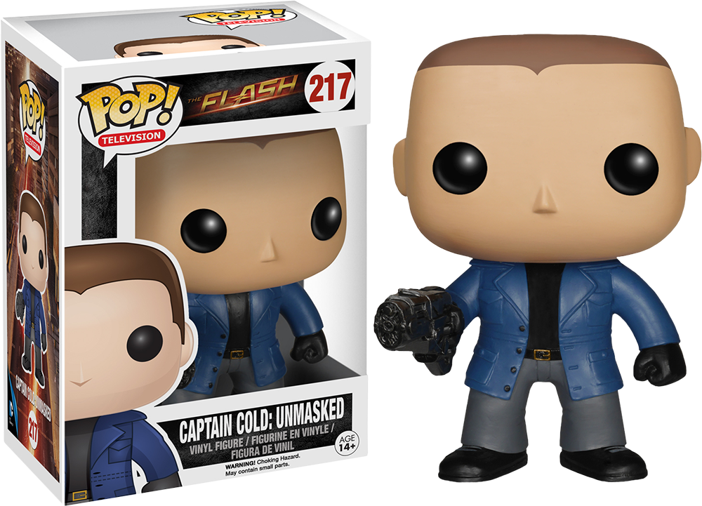 Funko Pop! Unmasked Captain Cold