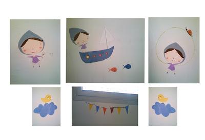 Dibujos niños. Kiss and Cakes. Ropa de bebés Barcelona.